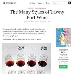The Many Styles of Tawny Port Wine