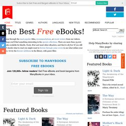 Free eBooks for your iPad, smartphone, or eBook reader