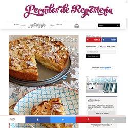 Tarta de manzana, queso y almendras - Pecados de Reposteria