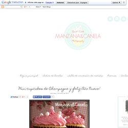 Manzana&Canela: Mini-cupcakes de Champagne y feliz Año Nuevo!