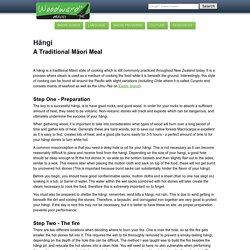 Maori Hangi - Guide to how to make a Hangi