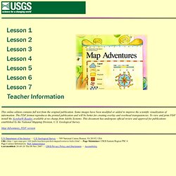 Map Adventures - Index