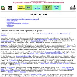 Map collections (early maps)