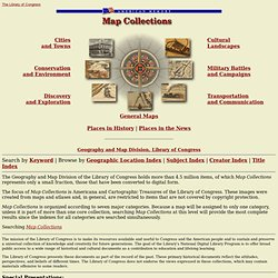 Map Collections Home Page
