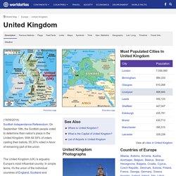Uk Map / Geography of United Kingdom / Map of United Kingdom