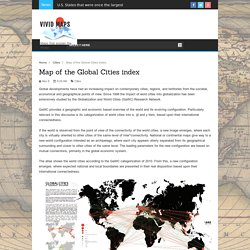 Map of the Global Cities index