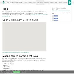 Map « Open Government Data