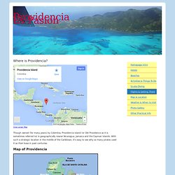 Map of Providencia - Where is Providencia?
