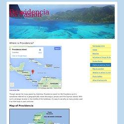 Map of Providencia - Where is Providencia?