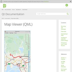 Map Viewer (QML)