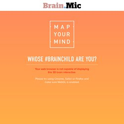 Map Your Mind - Whose #BRAINCHILD are you?