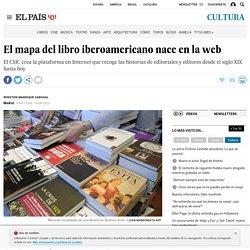 El mapa del libro iberoamericano nace en la web