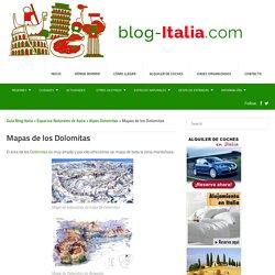 Mapas de los Dolomitas - Guía Blog Italia