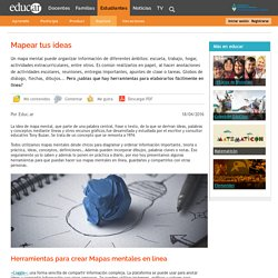 Mapear tus ideas - Blogs educ.ar
