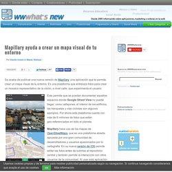 Mapillary ayuda a crear un mapa visual de tu entorno