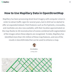 How to Use Mapillary Data in OpenStreetMap - The Mapillary Blog