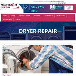 Appliance repair North & West Vancouver