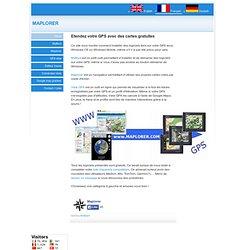 Logiciel gratuit pour GPS sous Windows CE et Windows mobile et smartphones