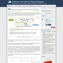 » MAPMYself - Lettres et Cartes Heuristiques