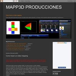 MAPP3D PRODUCCIONES: Como hacer un video mapping