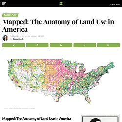 Mapped: The Anatomy of Land Use in the United States
