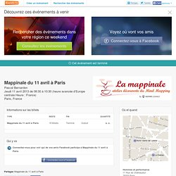 Mappinale du 11 avril à Paris - Eventbrite