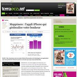 Mappiness : l'appli iPhone qui géolocalise votre bonheur