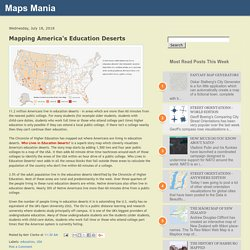 Mapping America's Education Deserts