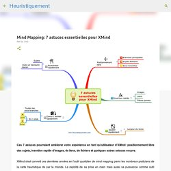 Mind Mapping: 7 astuces essentielles pour XMind