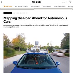 Mapping the Road Ahead for Autonomous Cars | Autopia