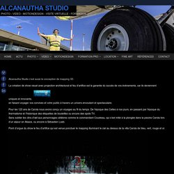 video mapping 3D 125 ans Carola - ALCANAUTHA studio