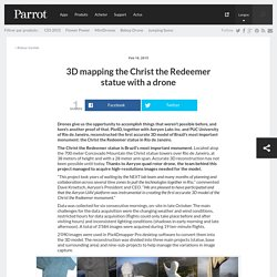 3D mapping the Christ the Redeemer statue with a drone