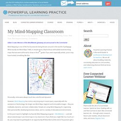 Mind Mapping in My Classroom with MindMeister