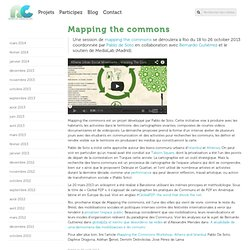 » Mapping the commons - Remix biens communs
