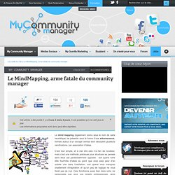 Le mind mapping, arme fatale du community manager