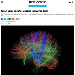 Smart Guide to 2012: Mapping the human brain - health - 23 December 2011 -...