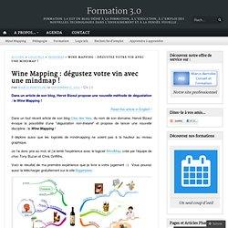 Wine Mapping : dégustez votre vin avec une mindmap !
