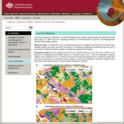 ACLUMP Land Use Mapping -Department of Agriculture