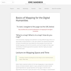 Basics of Mapping for the Digital Humanities – IDRE Sandbox