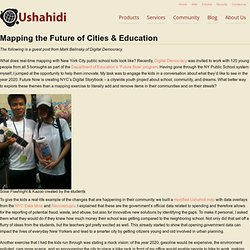 Mapping the Future of Cities & Education