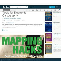 Mapping Hacks; Tips & Tools for Electronic Cartography