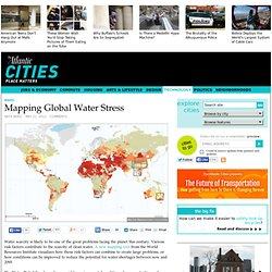 Mapping Global Water Stress - Technology