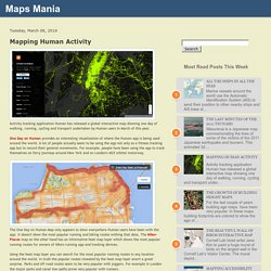 Mapping Human Activity