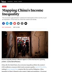 Mapping China's Income Inequality - Matt Schiavenza