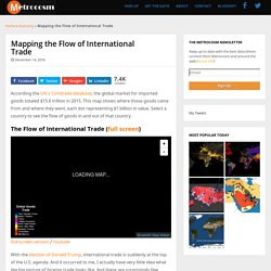 Mapping the Flow of International Trade