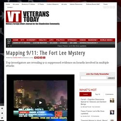 Mapping 9/11: The Fort Lee Mystery