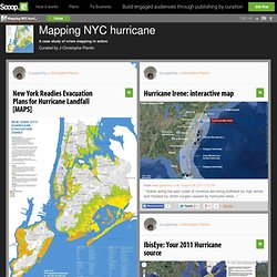 Mapping NYC hurricane