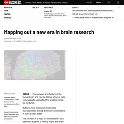 Mapping out a new era in brain research