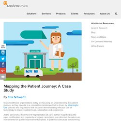 Mapping the Patient Journey: A Case Study