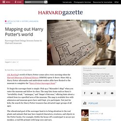 Mapping out Harry Potter's world